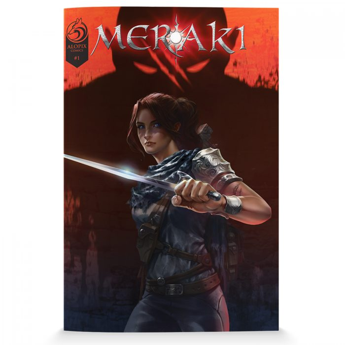MERAKI Issue 1 Standard Cover
