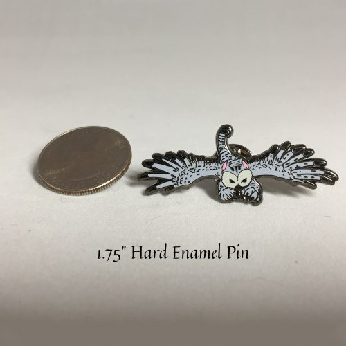 Fylax Owl Griffin Pin