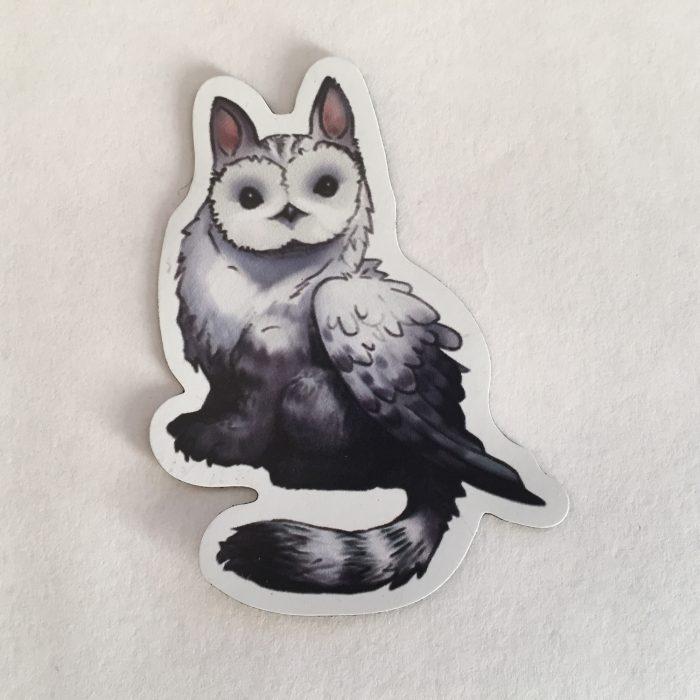 Fylax Owl Griffin Magnet