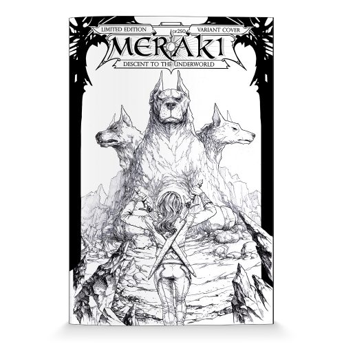 MERAKI Issue 0 Variant - Limited Edition