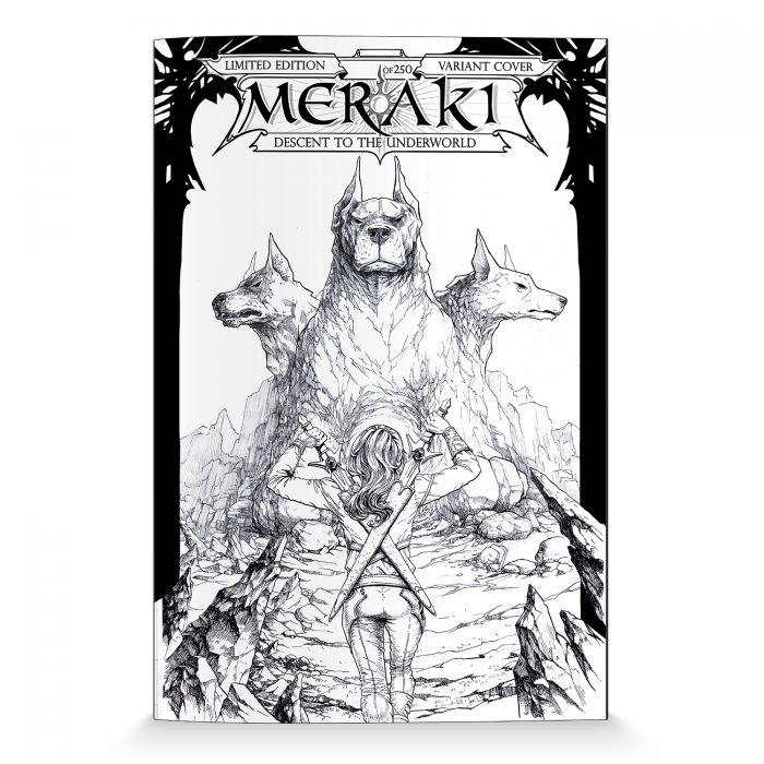 MERAKI Issue 0 Variant - Limited Edition