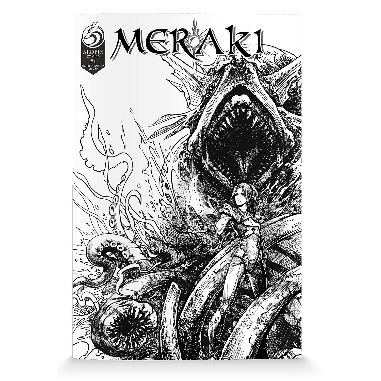 MERAKI Issue 1 Variant - Limited Edition