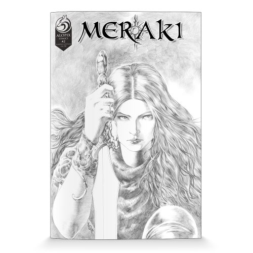 MERAKI Issue 2 Variant - Limited Edition