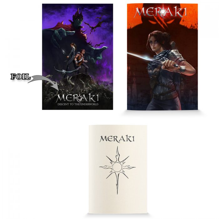 MERAKI Starter Pack - Issue 0, Issue 1 and sketch book