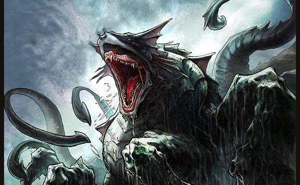 Sea Monster Hybrid - Meraki Comic